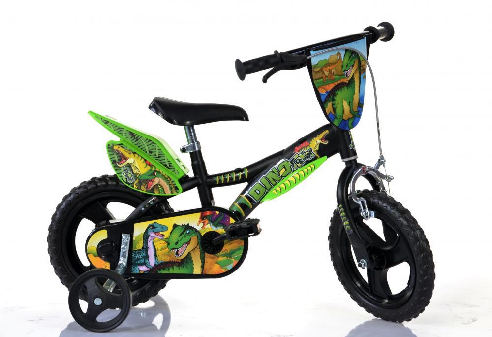 "Bērnu divritenis velosipēds Dino T Rex 16"" 616L-DS"