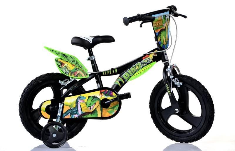 "Bērnu divritenis velosipēds Dino bikes Dino T Rex 14"""