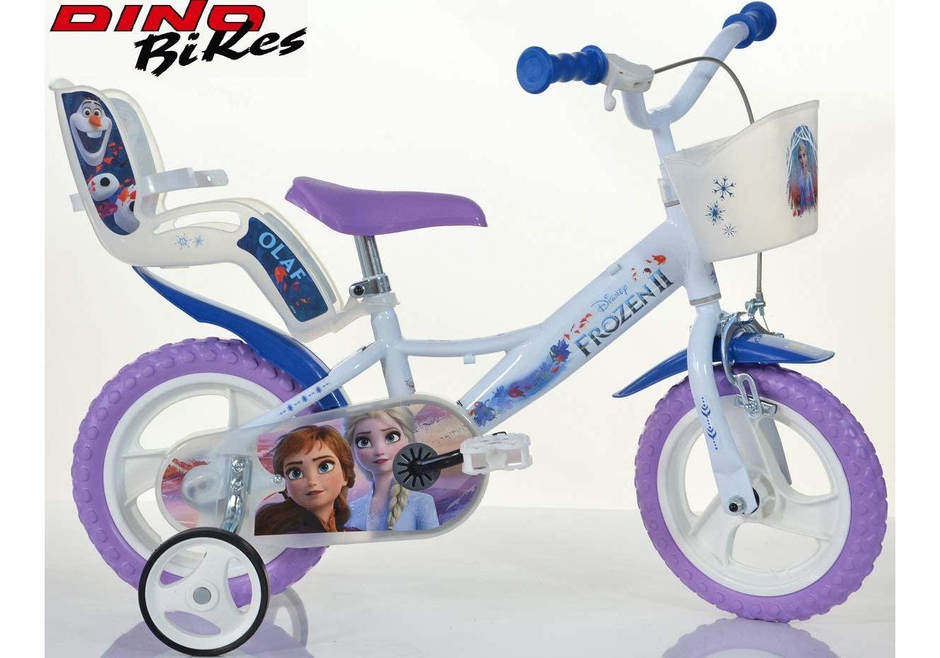 "Bērnu divritenis velosipēds Dino bikes Frozen 12"" 124RL-FZ3"