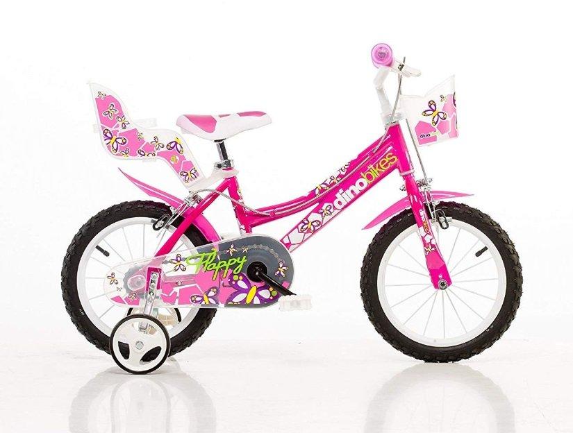 "Bērnu divritenis velosipēds Dino bikes Bimba16"" 166R-02"