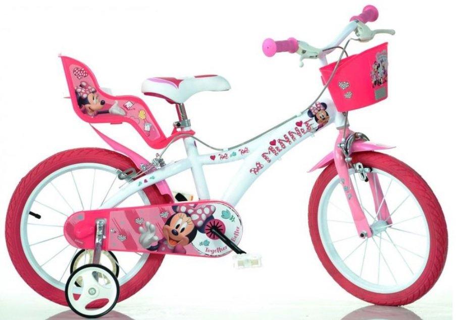 "Bērnu divritenis velosipēds Dino bikes Minnie 614-NN 14"""