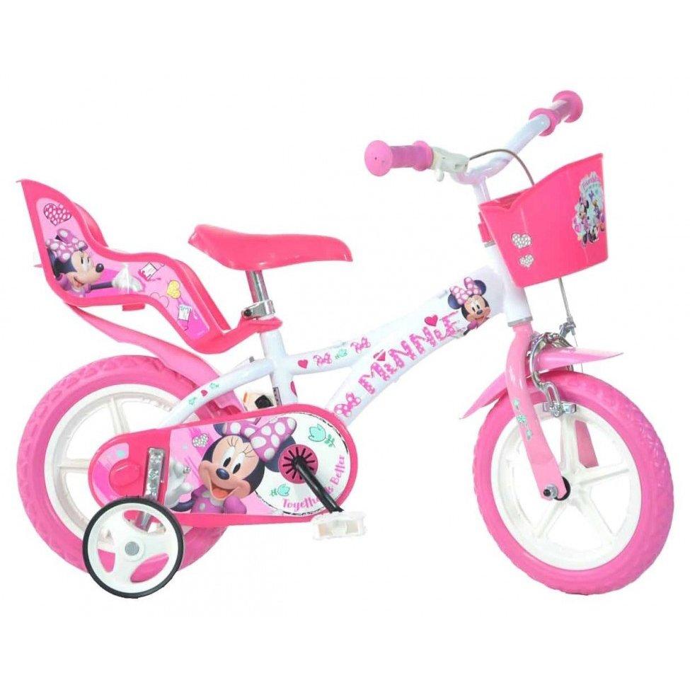"Bērnu divritenis velosipēds Dino bikes Mouse Minnie 12"" 612L-NN"