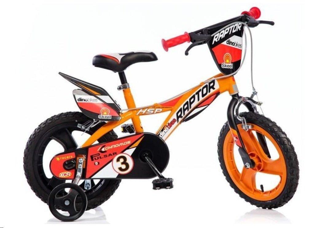 "Bērnu divritenis velosipēds Dino bikes Raptor 14"" 614L-RP"
