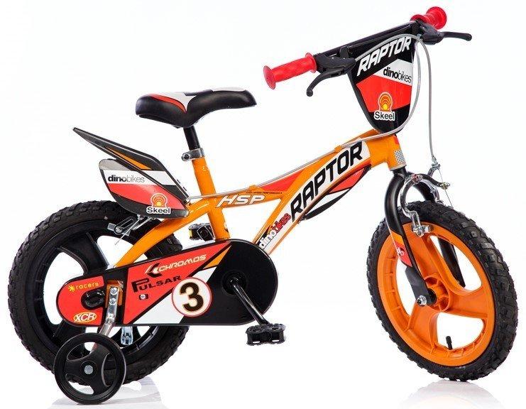 "Bērnu divritenis velosipēds Dino bikes Raptor 16"" 616L-RP"