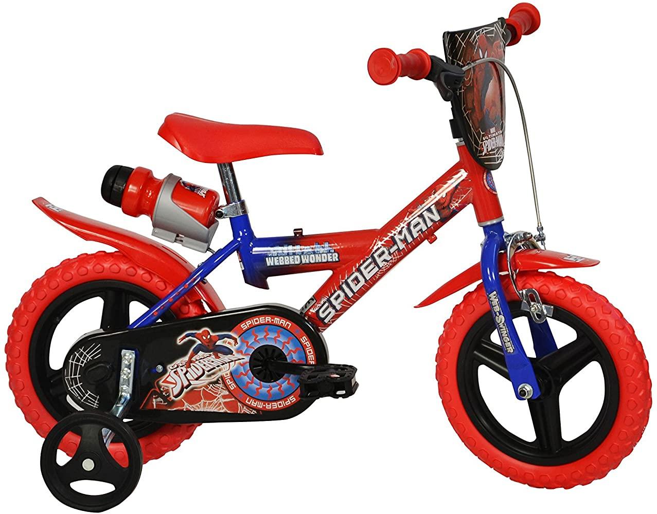 "Bērnu divritenis velosipēds Dino bikes Spiderman 12"" 123GL-SA"
