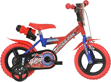 "Bērnu divritenis velosipēds Dino bikes Spiderman 143G-SA 14"""