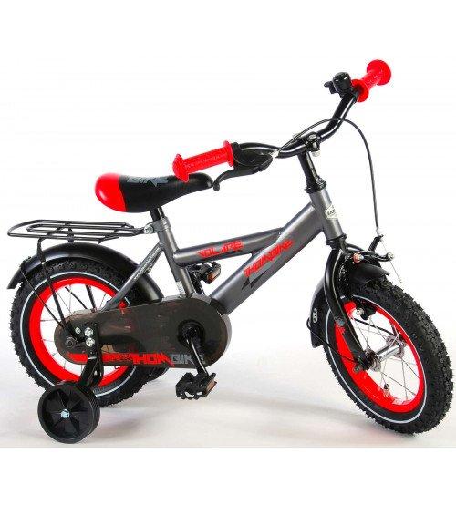 Bērnu divriteņu velosipēds VOLARE Gray/Red 12 collas