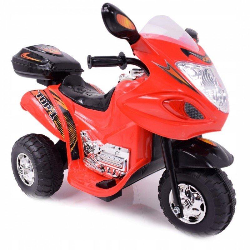 Bērnu elektro motocikls TLC Baby Moto Red WDHL-238