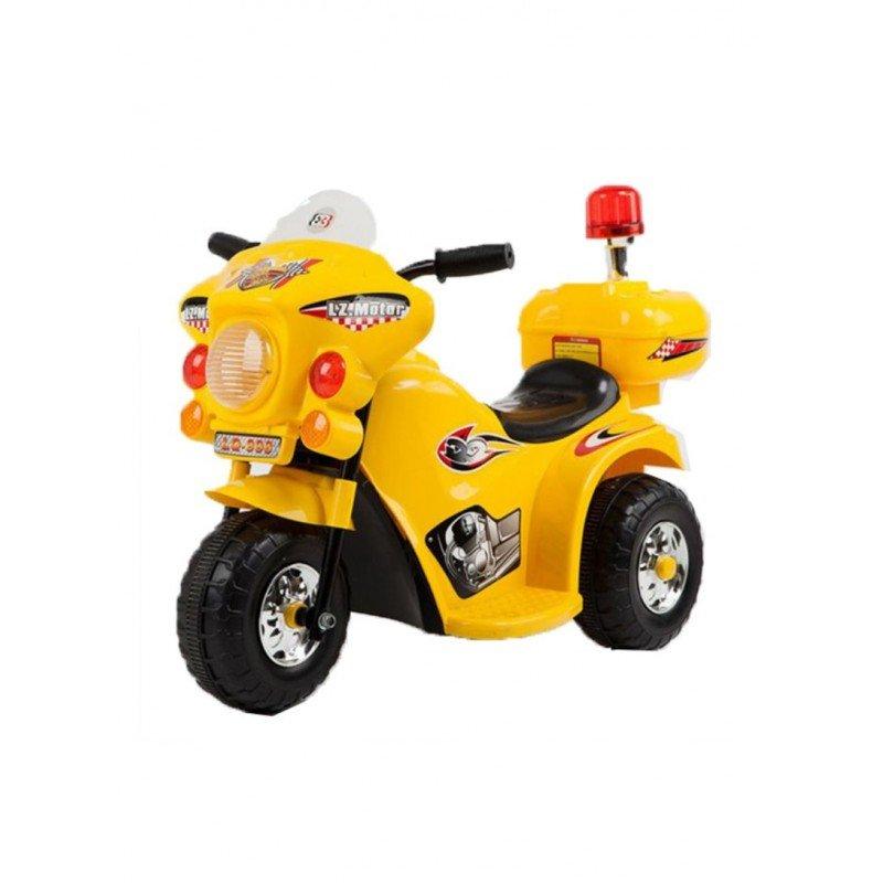 Bērnu elektro motocikls Yellow WDLQ998
