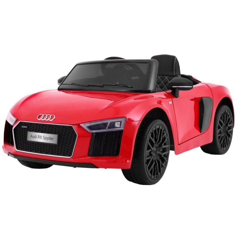Bērnu elektromobīlis ar pulti AUDI R8 Spyder Red