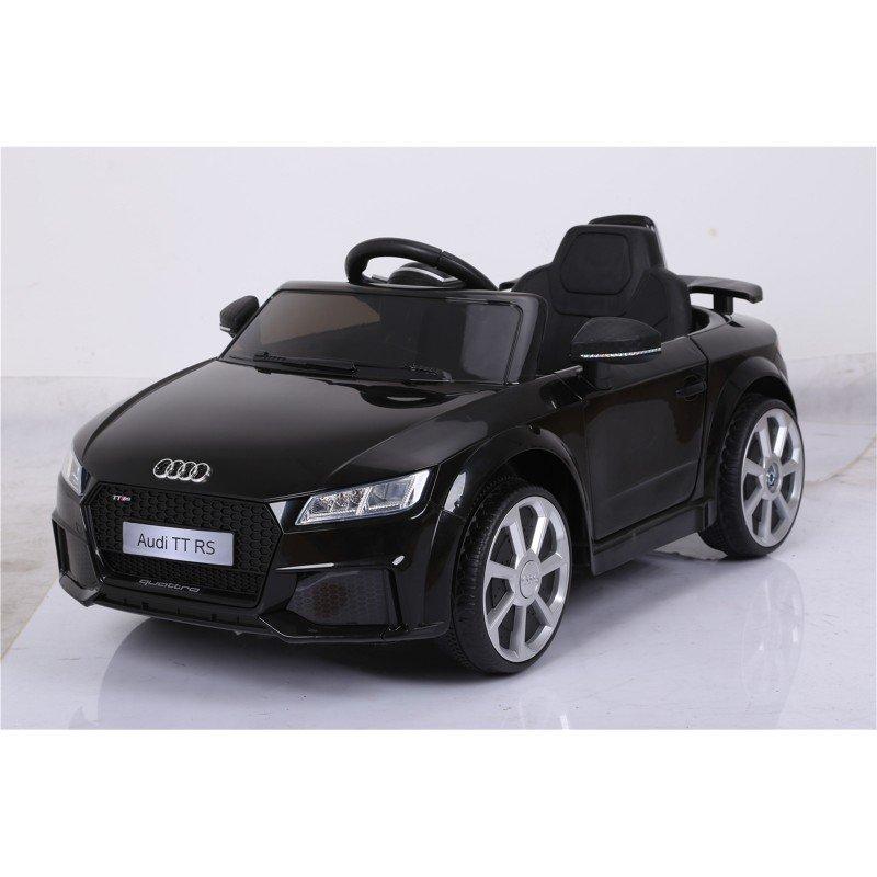 Bērnu elektromobilis ar pulti AUDI TT RS 12V black