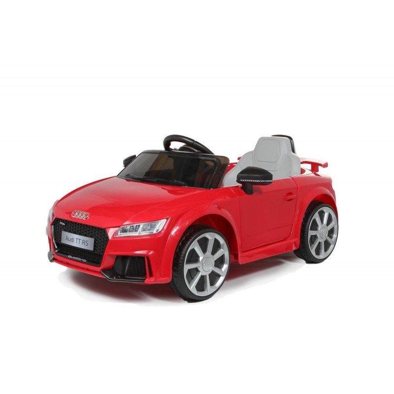 Bērnu elektromobilis ar pulti AUDI TT RS 12V Red