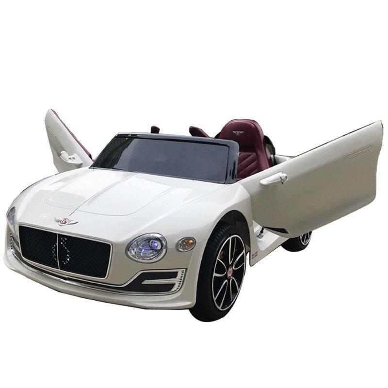 Bērnu elektromobilis ar pulti Bentley EXP12 white WDJE1166