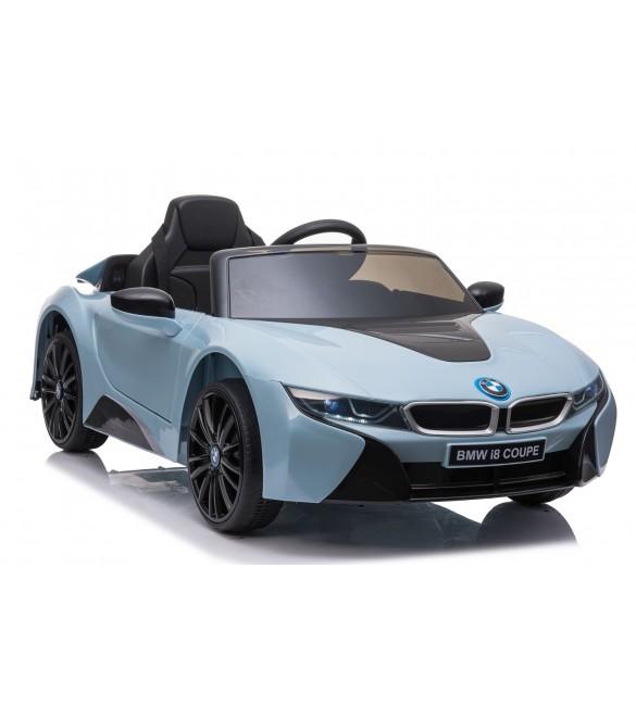 Bērnu elektromobilis ar pulti BMW i8 JE1001 blue