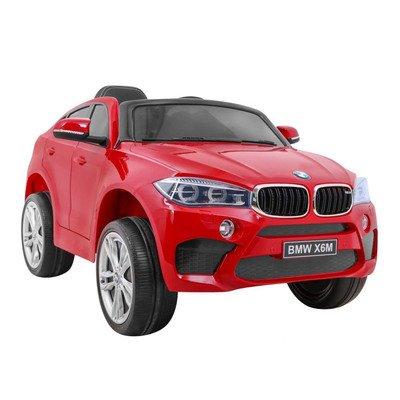 Bērnu elektromobilis ar pulti BMW X6M Red WDJJ2199
