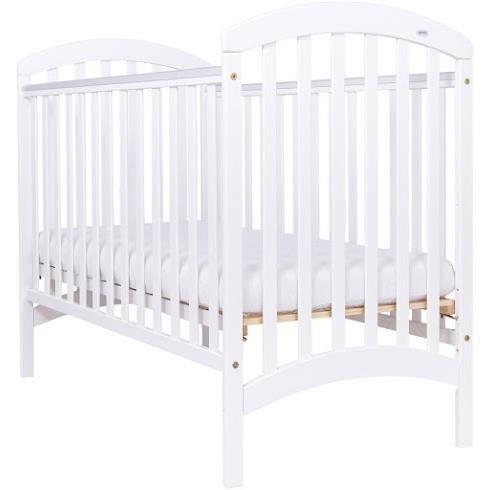 Bērnu gulta ar nolaižamu sānu DREWEX ADEL balta