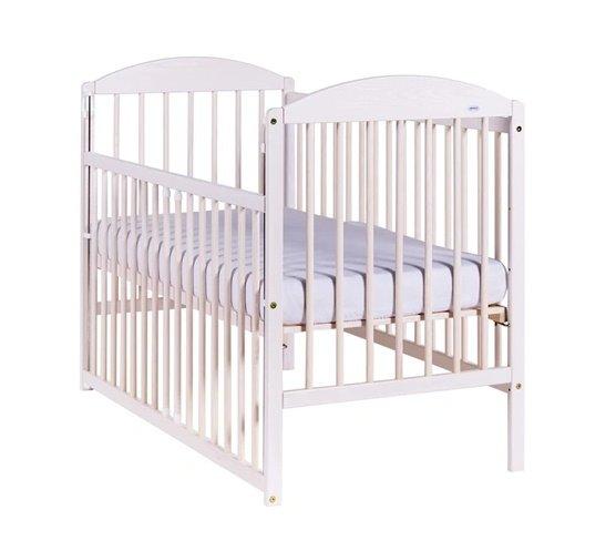 Bērnu gulta ar nolaižamu sānu Drewex KUBA II