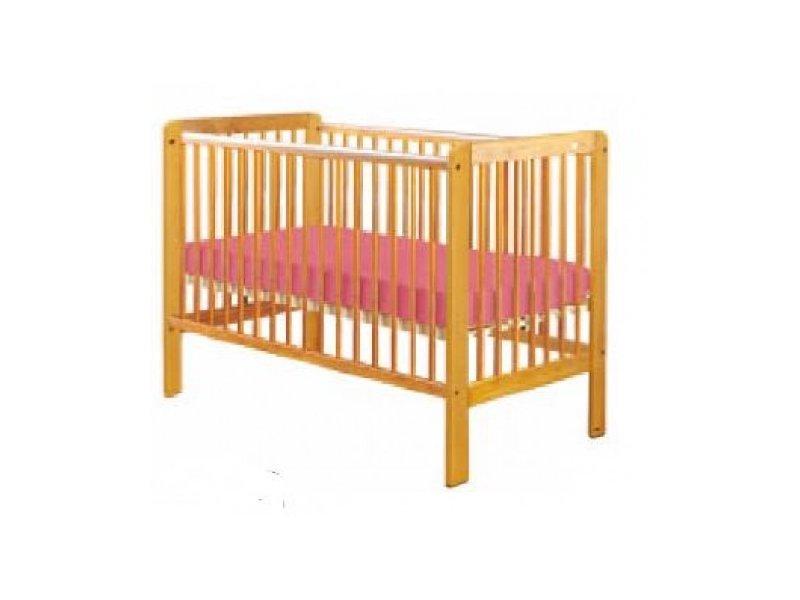 Bērnu gulta ar nolaižamu sānu Drewex TIGER priežu krāsas (Tygryš)