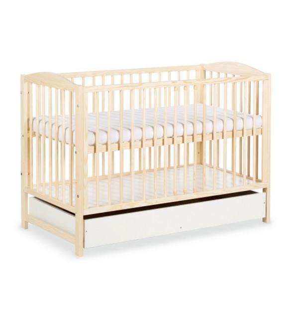 Bērnu gulta ar veļas kasti RADEK II priežu krāsas