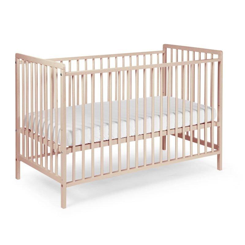 Bērnu gulta CHILDHOME Cot Basic Beech natural Ref 12
