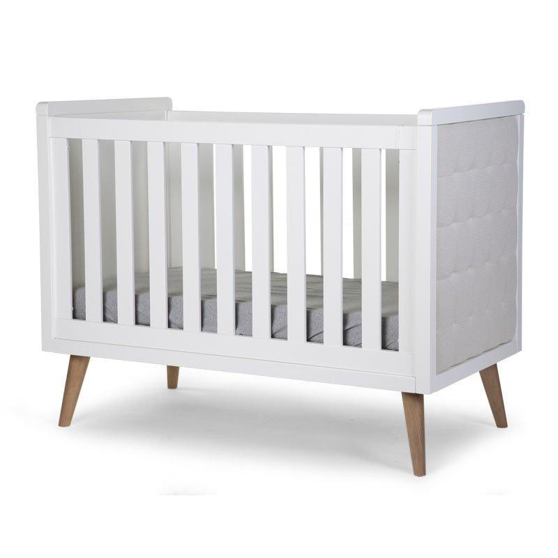 Bērnu gulta CHILDHOME Retro Rio White Cot