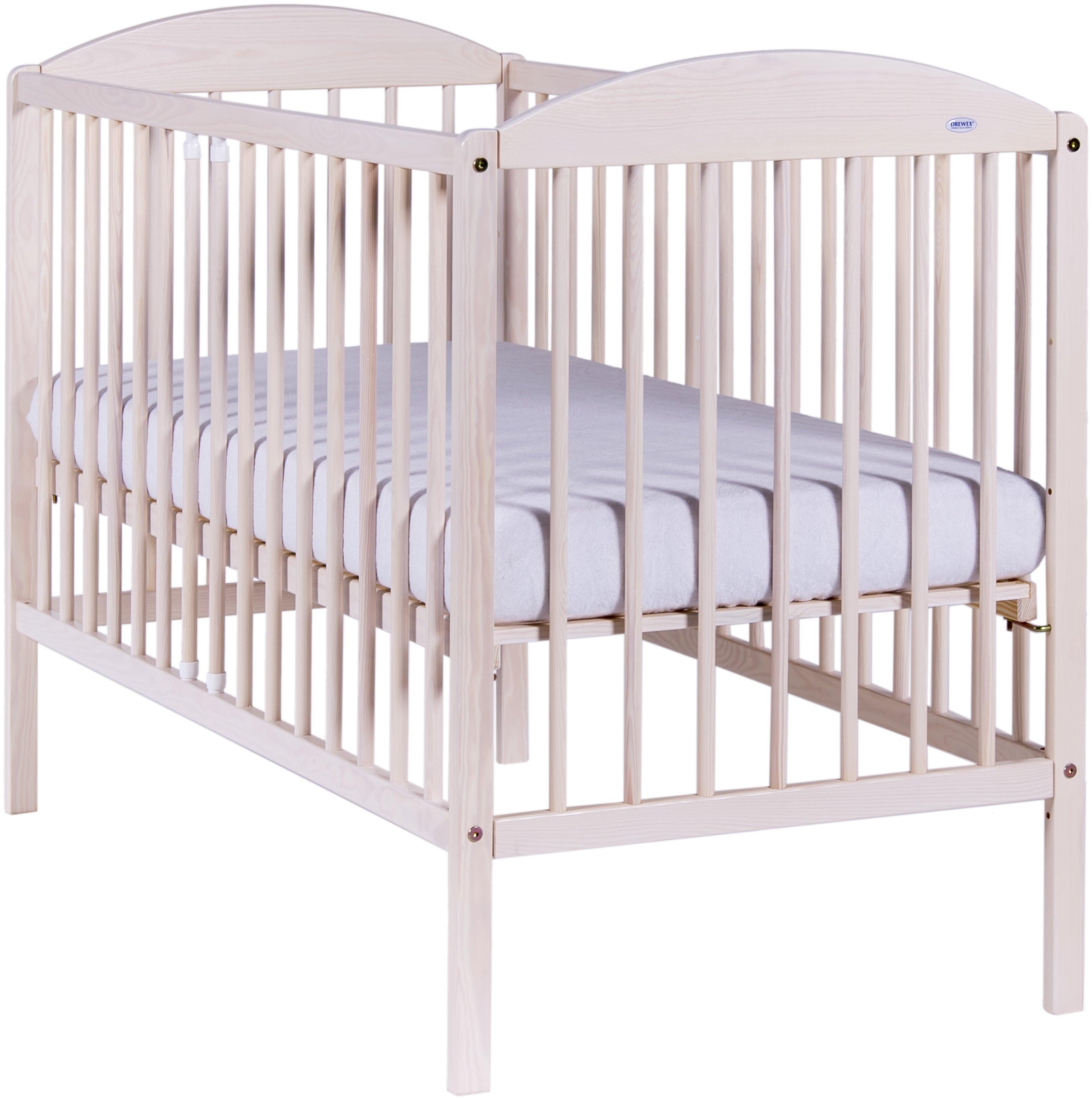Bērnu gulta Drewex KUBA II balināta priede
