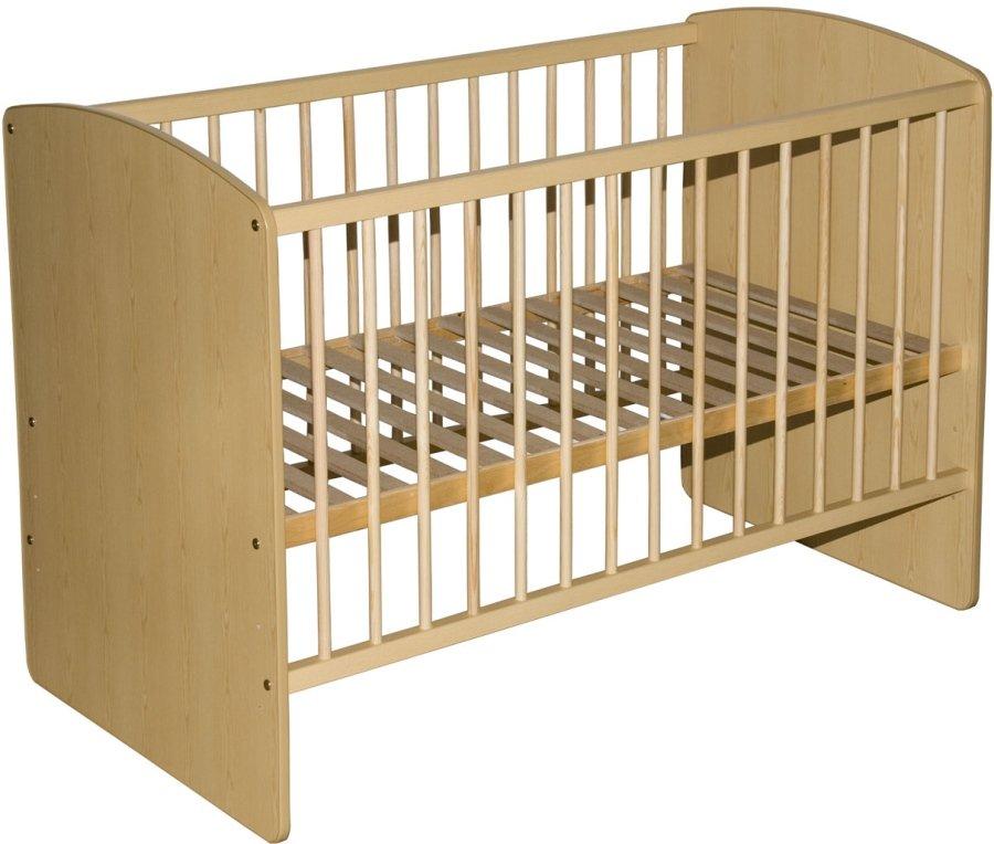 Bērnu gulta Klups KAROLINA II priežu krāsas
