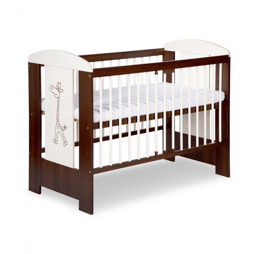 Bērnu gulta Klups Safari ŽIRAFĪTE Žyrafa ecri-nut