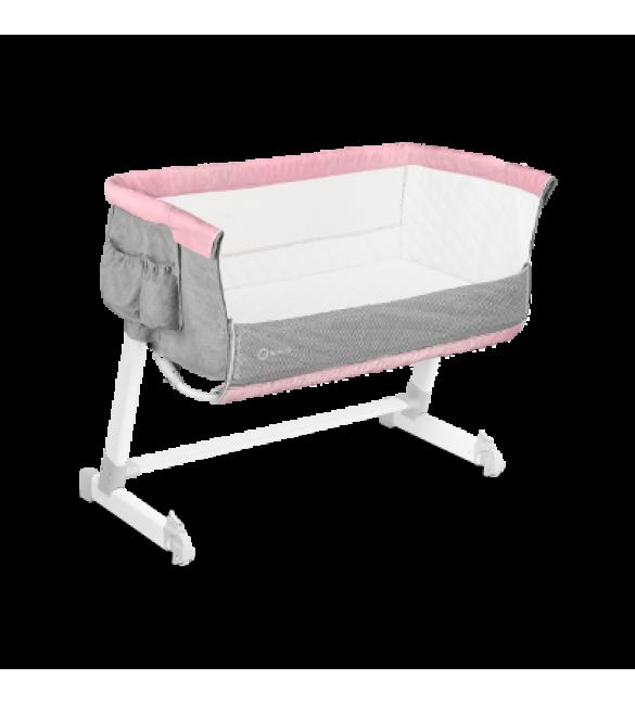 Bērnu gulta Lionelo THEO magnolia