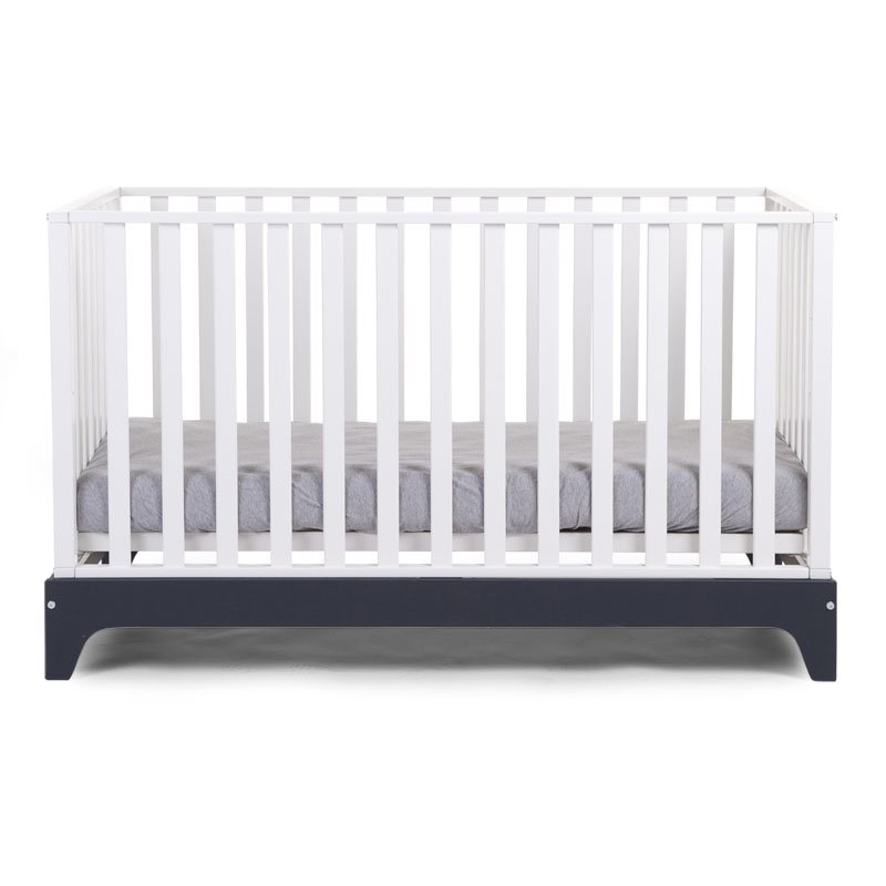 Bērnu gulta-transformeris CHILDHOME Navy frame Cot Ref 17