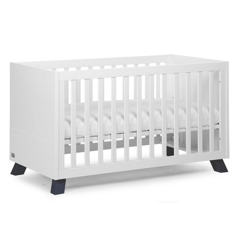 Bērnu gulta-transformeris CHILDHOME Union Marin Cot + Slats