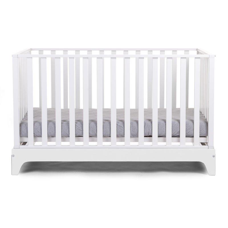 Bērnu gulta-transformeris CHILDHOME White frame Cot Ref 17