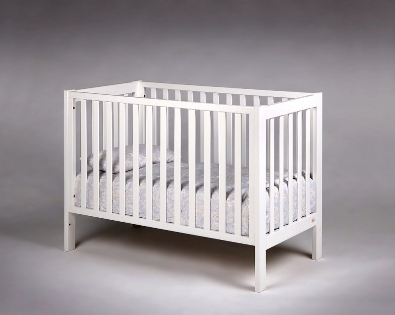 Bērnu gulta TROLL Loft White COT-LF0274