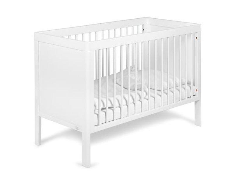 Bērnu gulta TROLL Lukas White COT-LU0546