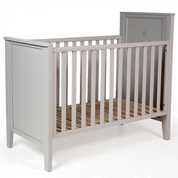 Bērnu gulta TROLL Royal Warm grey COT-RY0263