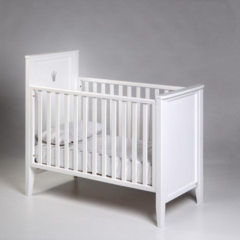 Bērnu gulta TROLL Royal White COT-RY0263