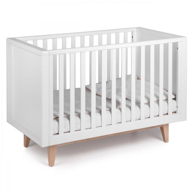 Bērnu gulta TROLL Scandy White COT-SC0557