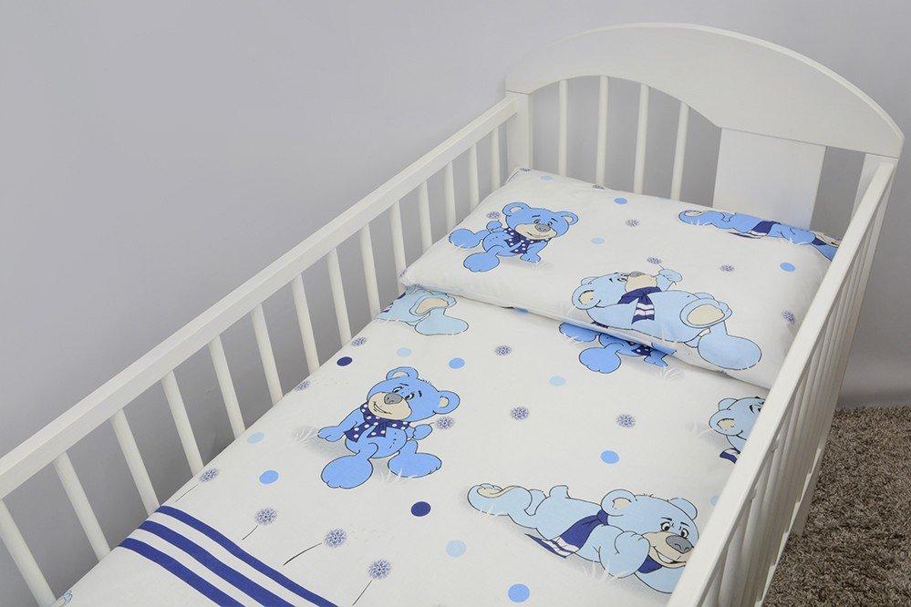 Bērnu gultas veļa: 2 daļas virspalags+spilvendrāna Ankras DREAMER K-2 blue