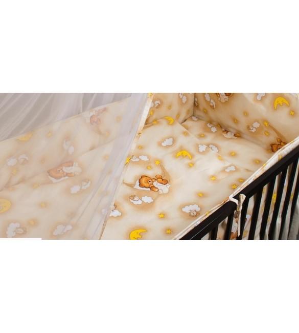 Bērnu gultas veļa: 2 daļas virspalags+spilvendrāna ANKRAS HAMMOCKS K-2 beige