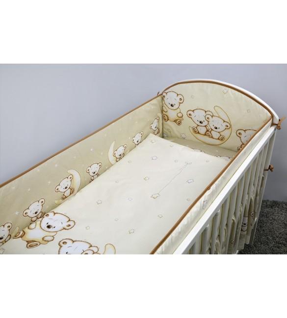 Bērnu gultas veļa: 3 daļas ANKRAS LEON K-3 beige