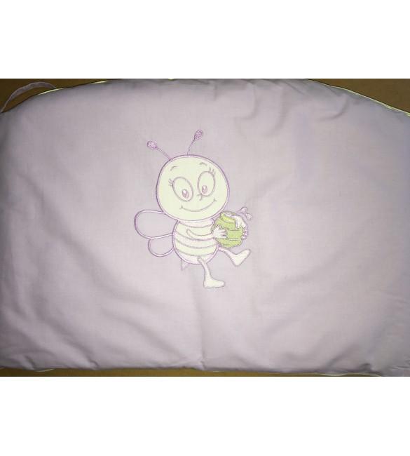 Bērnu gultas veļa: 3 daļas DREWEX Kolorino BITE&SHEEP K-3 violet B-006