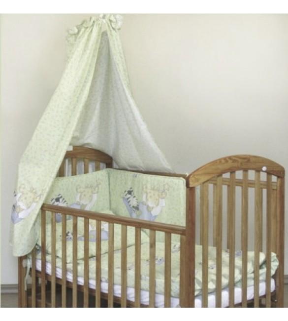 Bērnu gultas veļa: 4 daļas DREWEX Kolorino ZEBRA K-4 beige ZE-221