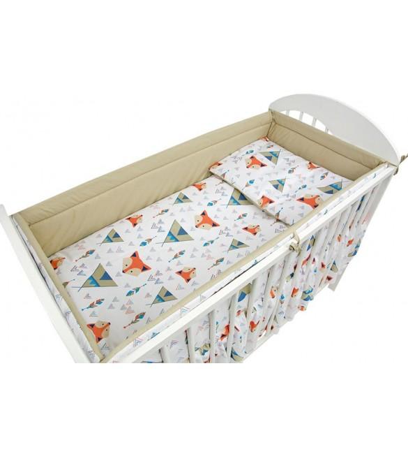 Bērnu gultas veļa: 5 daļas Ankras FOX K-5 (135,360)