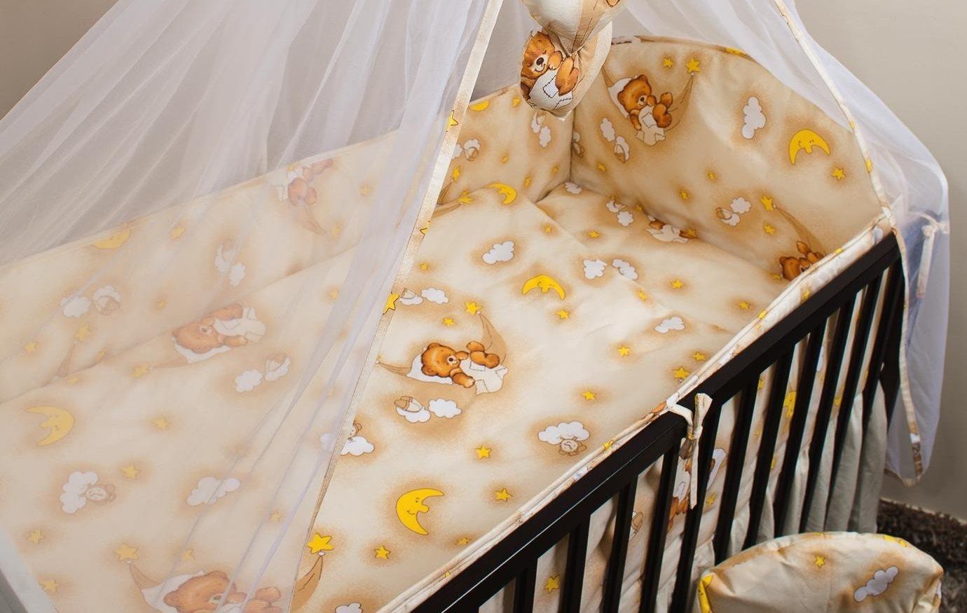 Bērnu gultas veļa: 5 daļas Ankras HAMMOCKS K-5 beige (135,360)