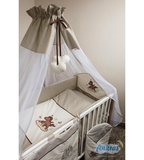 Bērnu gultas veļa: 5 daļas Ankras KONIK (Zirdziņš) K5 (135,180)