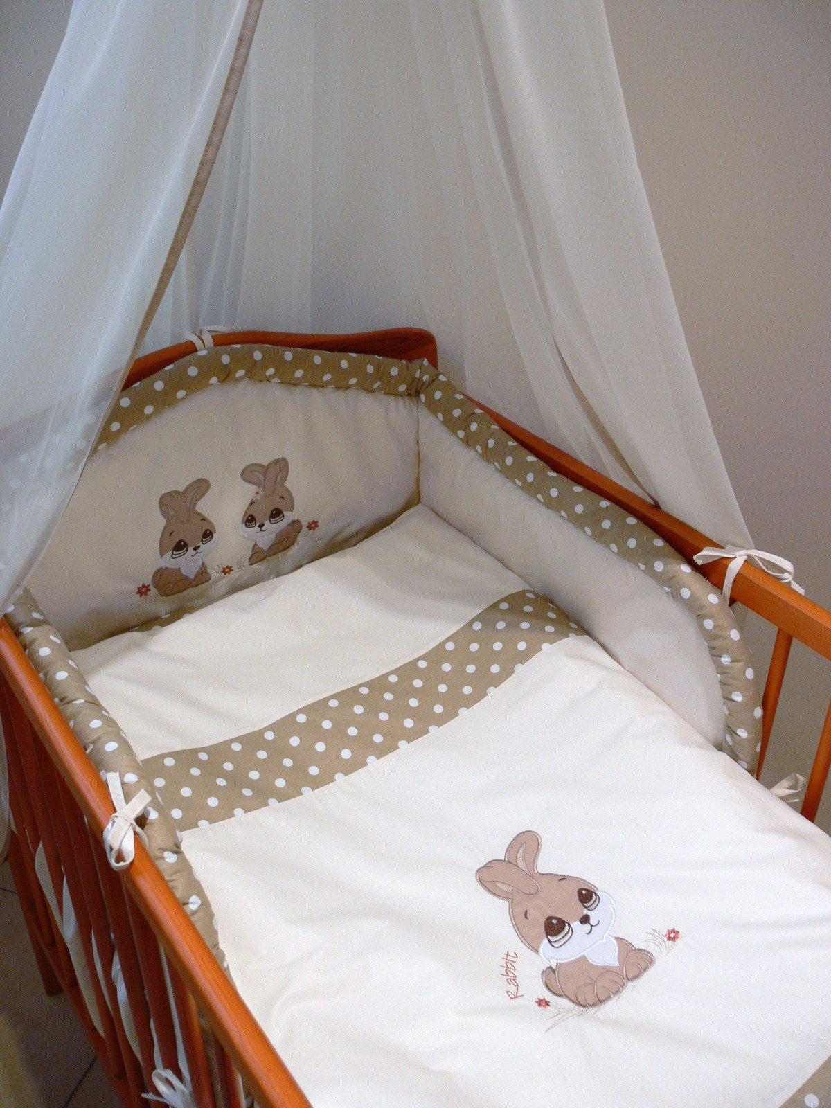Bērnu gultas veļa: 5 daļas Ankras ZAĶĪTIS (RABBIT) K-5 (135/180)