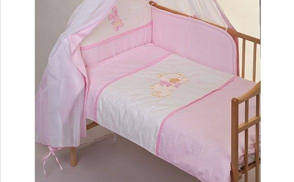 Bērnu gultas veļa: 5 daļas, Guļošs lācītis PUCHATEK 056-514