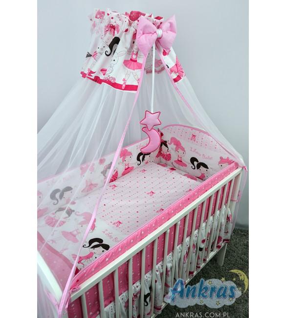 Bērnu gultas veļa: 6 daļas Ankras BALERĪNA (Baletnica) K-6 (135,360)