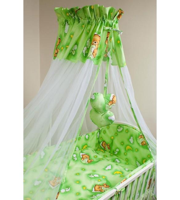 Bērnu gultas veļa: 6 daļas Ankras HAMMOCKS K-6 green (135, 360)