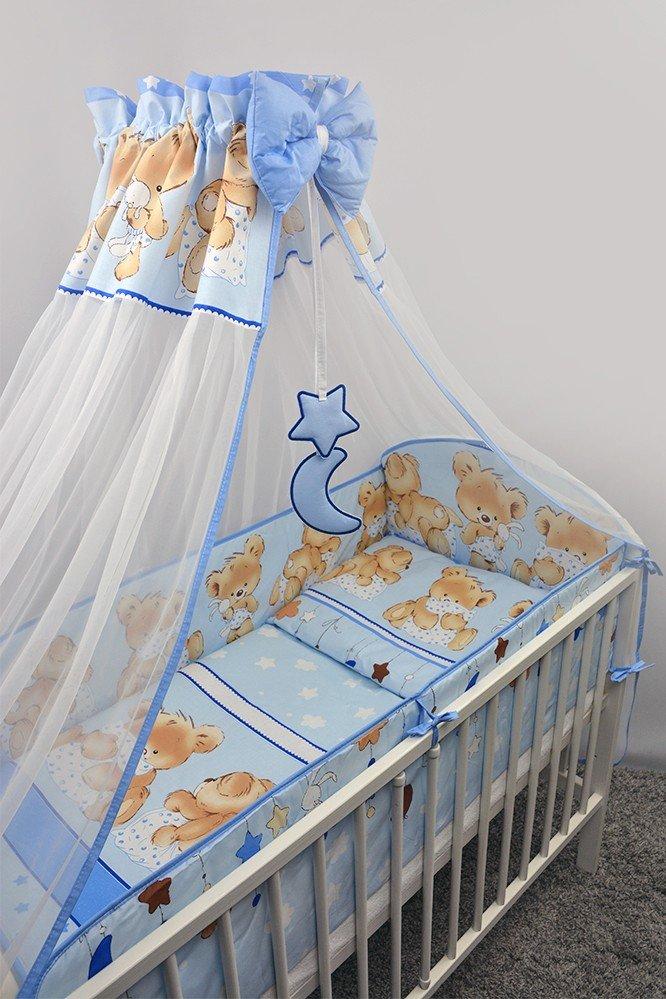 Bērnu gultas veļa: 6 daļas Ankras MIKA blue K-6 (135, 360)